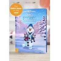 Personalised Olafs Frozen Adventure - Softback Book