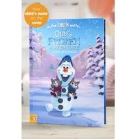 Personalised Disney Olafs Frozen Adventure - Hardback Book