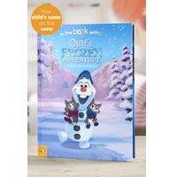 Personalised Olafs Frozen Adventure - Hardback Book
