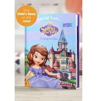 Personalised Sofia the First - Softback Book