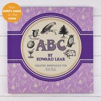 Personalised Edward Lears ABC Book