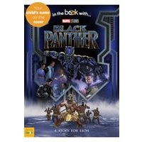 Personalised Black Panther Book - Softback