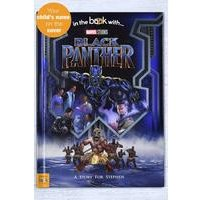 Personalised Black Panther Book - Hardback