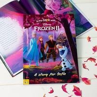 Personalised Disney Frozen 2 - Hardback