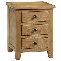 Addison 3 Drawer Bedside Cabinet