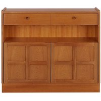 Classic Low Bookcase with Doors