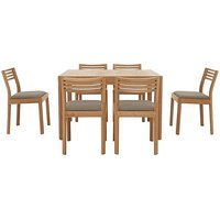 Ercol - Ella Small Extending Dining Table and 6 Dining Chair