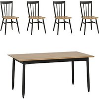 Ercol - Monza Small Extending Dining Table and 4 Dining Chai