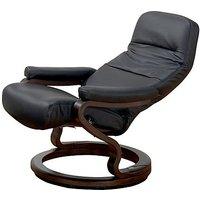 Zerostress Kennett Leather Armchair