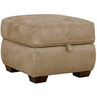 Paloma Fabric Storage Footstool