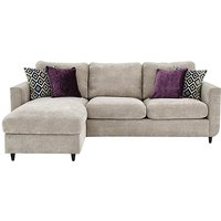 Esprit Fabric Chaise Sofa Bed with Storage