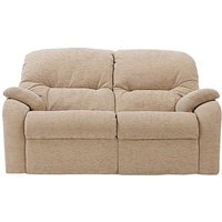 G Plan - Mistral 2 Seater Fabric Recliner Sofa - Cream