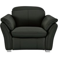Mustang Leather Recliner Armchair