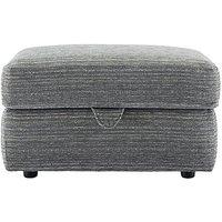 Washington Fabric Storage Footstool