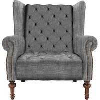 New England Windham Fabric Armchair