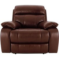 Moreno Leather Recliner Armchair