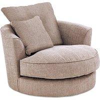 Dune Fabric Swivel Chair