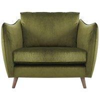 City Loft Fabric Snuggler Armchair