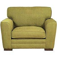 Wilton Fabric Snuggler Armchair