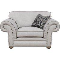 Langar Fabric Snuggler Chair