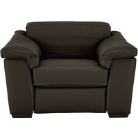 Sensor Leather Recliner Love Seat