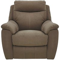 Snug Fabric Recliner Armchair
