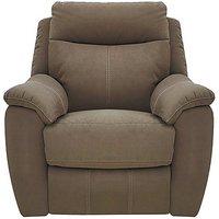 Snug Fabric Recliner Armchair