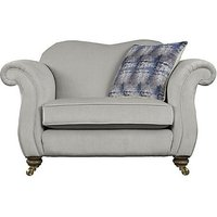 The Derwent Collection Cavendish Fabric Snuggler Armchair