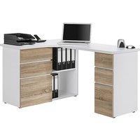 South Street Fulton Computer Desk - White