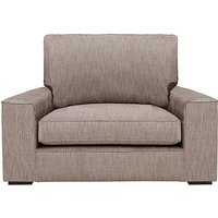 The Avenue Collection 5th Avenue Fabric Snuggler Armchair