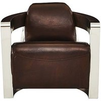 Hoxton Leather Armchair - Only One Left!