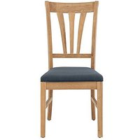 Maison Slatted Dining Chair - Grey