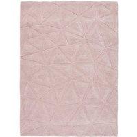 Trixie Wool Rug - 120cm-x-170cm - Pink