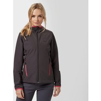 Jack Wolfskin Womens Turbulence Softshell Jacket, Grey