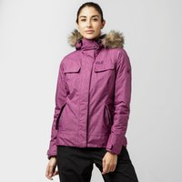 Jack Wolfskin Womens Cypress Mountain Texapore Parka, Purple