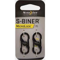 Niteize S-Biner MicroLock (Black), Black