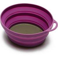 Lifeventure Silicon Ellipse Bowl, Purple
