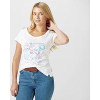 Peter Storm Womens Beach T-Shirt, White