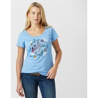 Peter Storm Womens Nautical T-Shirt, Blue