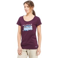 Peter Storm Womens Home Is T-Shirt, Purple