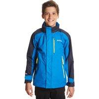 Regatta Boys Fusilier Waterproof Jacket, Blue