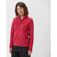 Peter Storm Women's Full-Zip Interest Fleece, Red