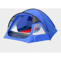 Eurohike Cairns 4 Man Deluxe Tent, Blue