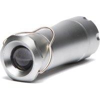 Eurohike 1W Extendable Aluminium Lantern & Torch, Silver