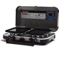 Coleman FyreChampion Double Burner Stove, Black