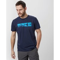 The North Face Mens View T-Shirt, Navy