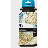 Lifeventure Giant Towel (Snowdon Os Map Print) -