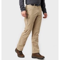 Brasher Mens Double Zip-Off Trousers - Beige/Stn, Beige/STN