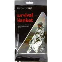 Eurohike Survival Blanket  Silver