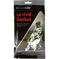 Eurohike Survival Blanket - Silver, Silver